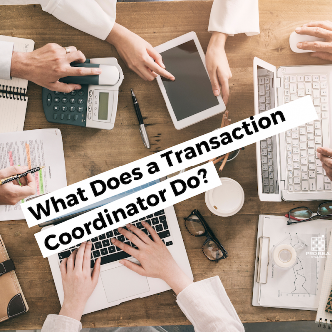 what does a transaction coordinator do